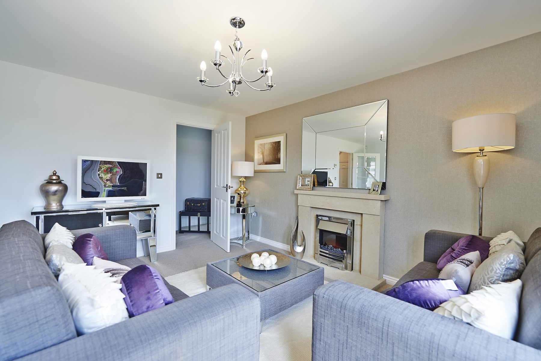 Rackenford Meadow Kempsford example living room